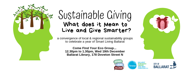 Sustainable Giving - Smart Living Ballarat