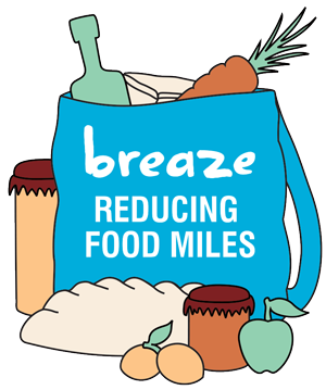 BREAZE Farmers Market - Reducing Food Miles